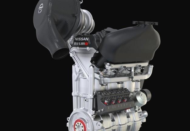 Trzycylindrowy silnik Nissana /