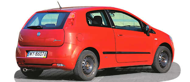 Trzydrzwiowe Grande Punto trudniej sprzedać niż 5-drzwiowe, ale łatwiej o auto w dobrym stanie. /Motor