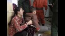 Trzyletnie dziecko utknęło w pralce