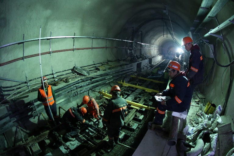 Tunel Marmaray /AFP