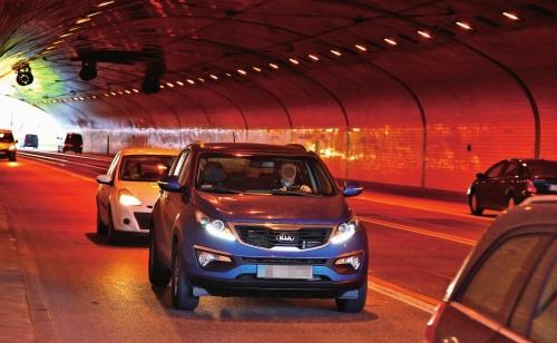 tunel /Motor