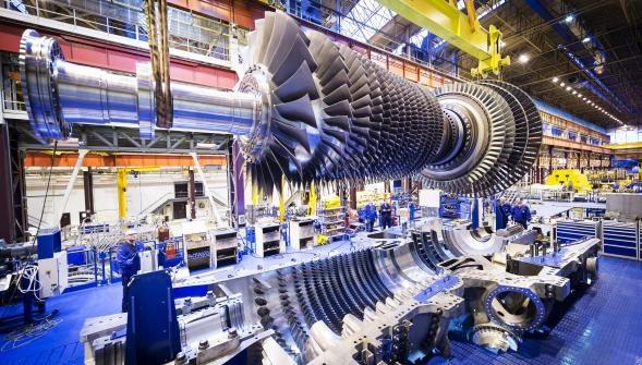 Turbina 9HA.01 stworzona przez GE /materiały prasowe