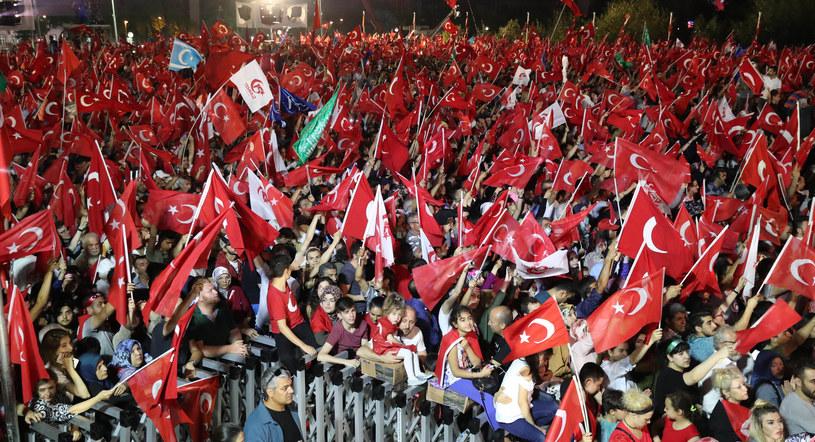 Turcja rok po nieudanym zamachu stanu, zdj. ilustracyjne /ADEM ALTAN / TURKISH PRESIDENTIAL PRESS SERVICE / AFP /AFP