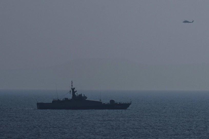 Turecki okręt, zdjęcie ilustracyjne /AFP