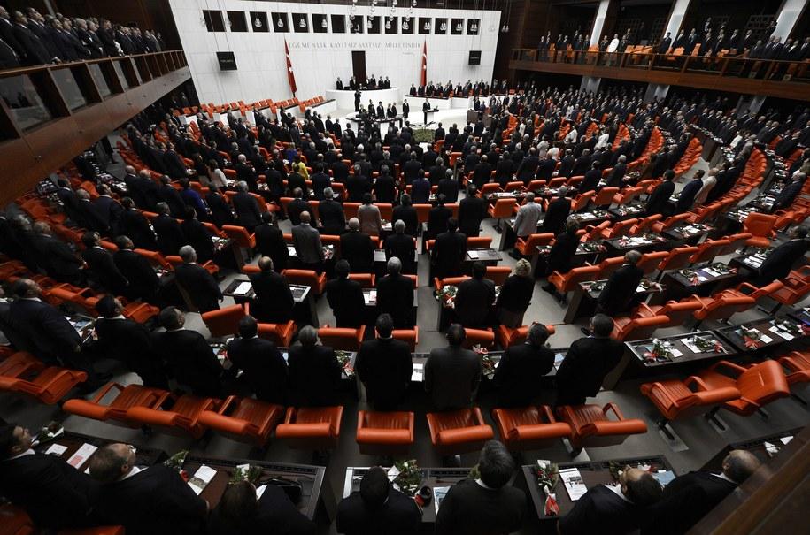 Turecki parlament (zdj. ilustracyjne) /ANADOLU AGENCY /PAP/EPA