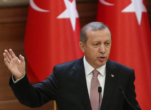 Turecki prezydent Recep Tayyip Erdogan, zdj. ilustracyne /ADEM ALTAN /AFP