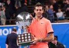 Turniej ATP w Sztokholmie - pierwszy tytuł Juana Martina Del Potro od 34 miesięcy