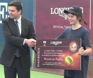 Turniej tenisowy Longines. Wideo