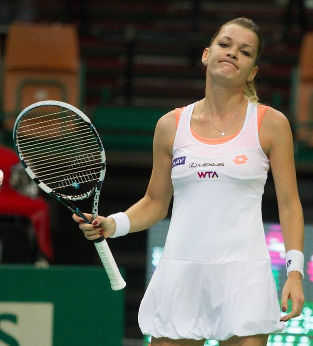 Turniej WTA w Katowicach: Agnieszka Radwańska odpadła w półfinale