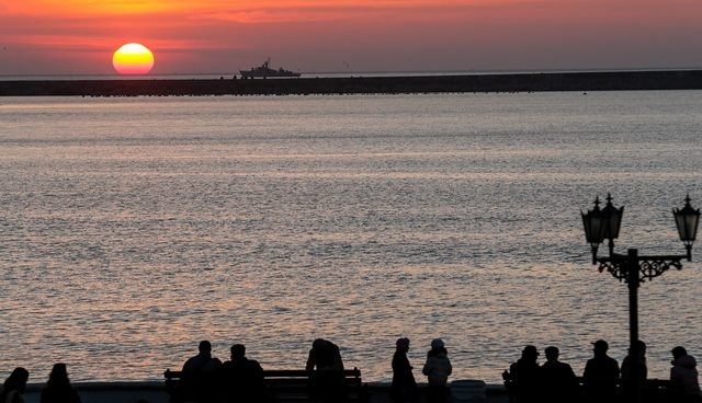 Turyści boją się odwiedzać Krym /Sergei Ilnitsky /PAP/EPA