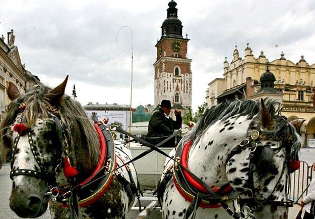 Turyści odwiedzają głównie Kraków, a także Zakopane i Wieliczkę /AFP