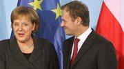 Tusk i Merkel o historii, gazociągu, współpracy