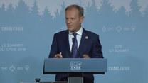 Tusk na szczycie G7: Miałem bardzo obiecujące spotkanie z premierem Włoch Giuseppe Conte