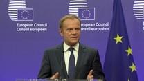 Tusk: Unia Europejska zdecydowana by utrzymać jedność 27 krajów członkowskich