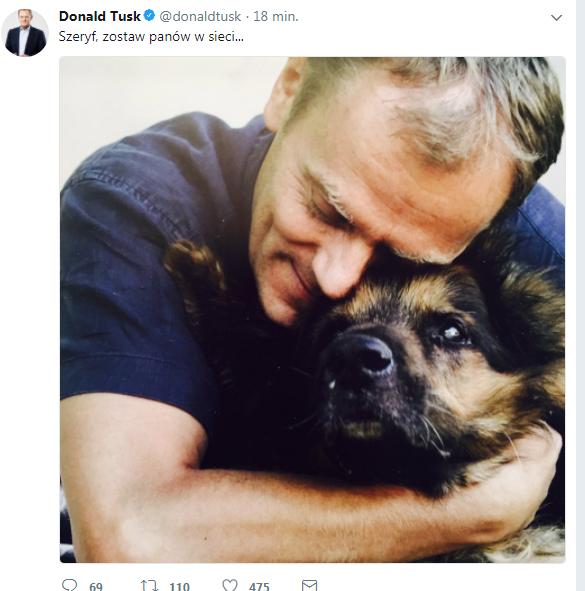 Twitter Donalda Tuska /Twitter /