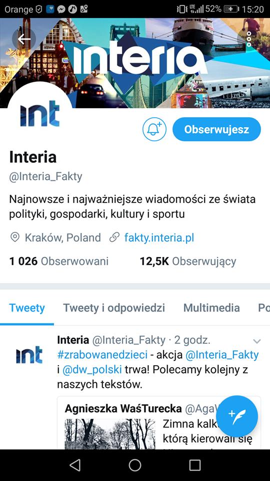 Twitter na początku 2017 roku liczył 328 mln aktywnych użytkowników /INTERIA.PL