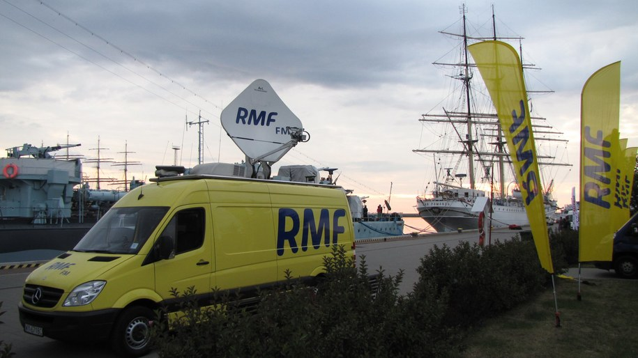 Twoje Miasto w RMF FM i TVP INFO jest dziś w Gdyni /Kamil Młodawski /RMF FM