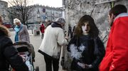 Twórca niezwykłych murali powrócił do Warszawy