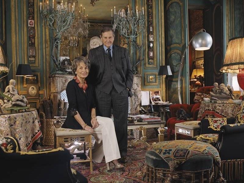 Twórcy marki Sisley: hrabina Isabelle d'Ornano z mężem, hrabią Hubertem d'Ornano  /materiały prasowe