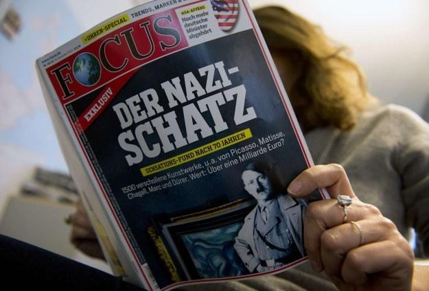 """Tygodnik """"Focus"""" ujawnił, że Gurlitt ukrywał w swoim mieszkaniu unikalną kolekcję 1406 obrazów /AFP"""