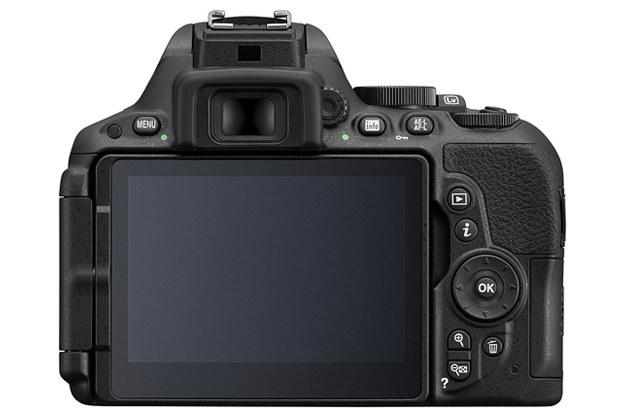 Tył obudowy Nikona D5500 /materiały prasowe