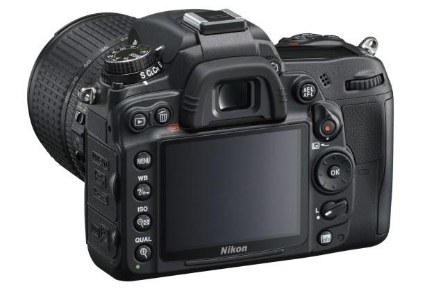 Tylny panel lustrzanki Nikon D7000 /materiały prasowe