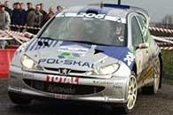 Tym razem w eliminacji ME Kuzaj poprowadzi Peugeota 206 WRC /INTERIA.PL