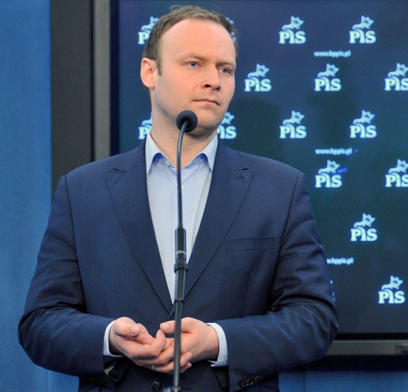 Tymczasowy rzecznik PiS Marcin Mastalerek /Bartłomiej Zborowski /PAP