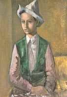 Tymon Niesiołowski, Chłopiec w szpiczastej czapce, ok. 1930 /Encyklopedia Internautica