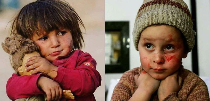 Tysiące dzieci pozostają w strefie walk bez dostępu do wody, jedzenia i leków /Instagram /Internet