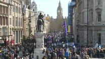 Tysiące ludzi demonstrowało w Londynie przeciw Brexitowi