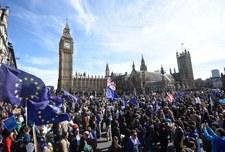 Tysiące ludzi demonstrowały w Londynie przeciw Brexitowi
