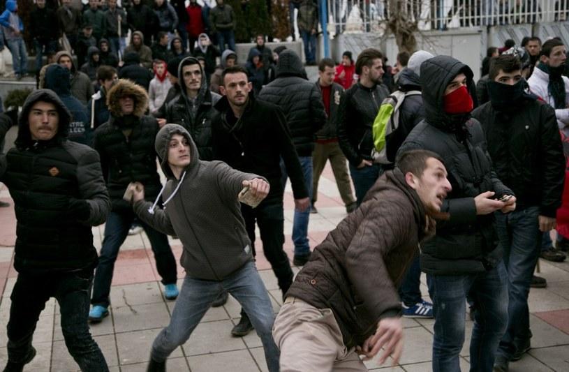 Tysiące ludzi wyszły na ulice. Doszło do starć z policją /AFP /East News