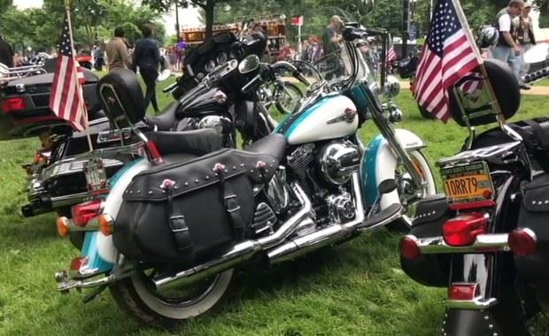 Tysiące motocykli na ulicach Waszyngtonu. Trwa Rolling Thunder