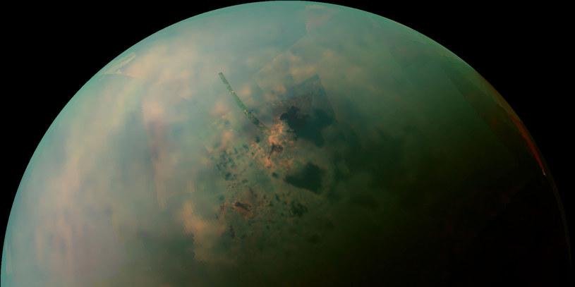 Tytan powstał przed Saturnem? To jest możliwe /materiały prasowe