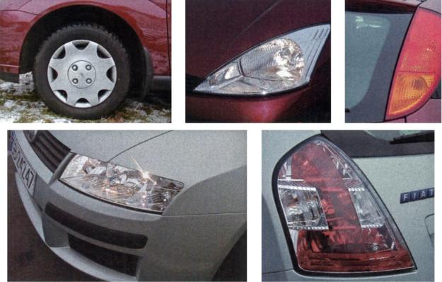 U obu konkurentów głównymi akcentami stylizacyjnymi są reflektory i tylne lampy. Ford wykorzystał też niecodzienną linię nadkoli błotników. /Motor
