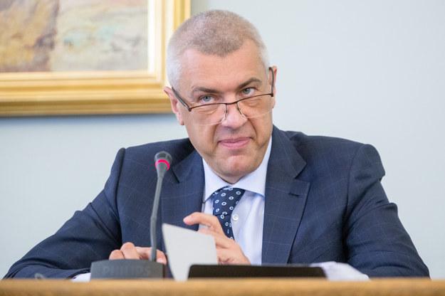 U Romana Giertycha goście bawili się hucznie /Andrzej Iwańczuk /Reporter