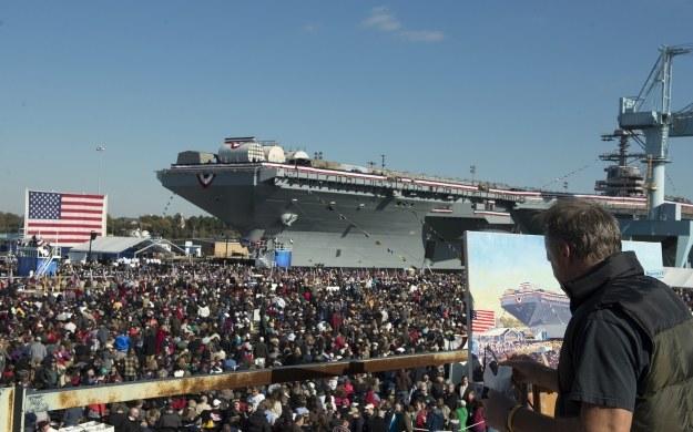 U.S. Navy photo by Mass Communication Specialist 2nd Class Aidan P. Campbell/Released) /materiały prasowe