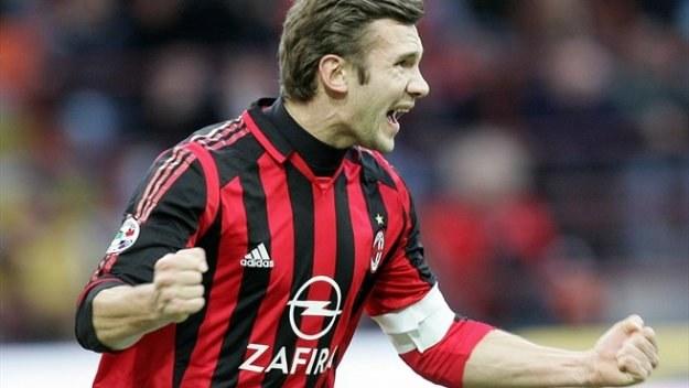 U szczytu sławy. Andrij Szewczenko w koszulce AC Milanu /Getty Images/Flash Press Media