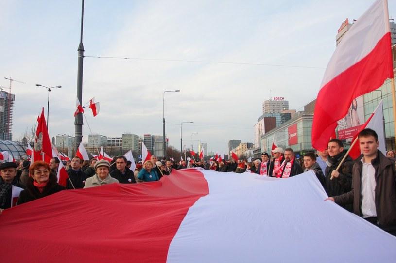 Ubiegłoroczny Marsz Niepodległości /Krystian Maj /Reporter