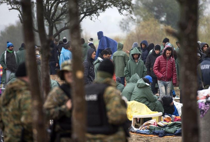 Uchodźcy na granicy grecko-macedońskiej /GEORGI LICOVSKI /PAP/EPA