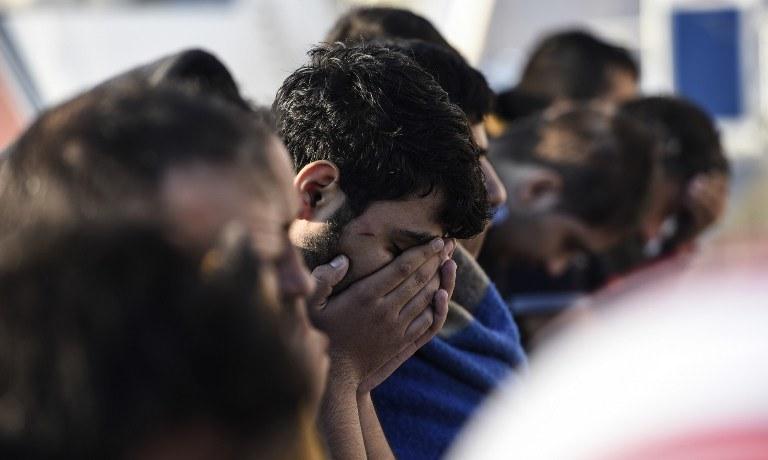 Uchodźcy na greckiej wyspie Kos, fot. ilustracyjna /AFP