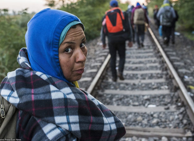 Uchodźcy na Węgrzech, 9.09.2015 /AP/FOTOLINK /East News
