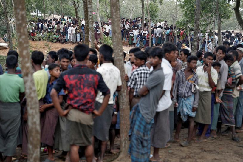 Uchodźcy Rohingja /REUTERS/Cathal McNaughton /Agencja FORUM