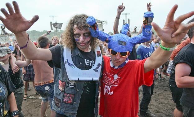 Uczestnicy 19. Przystanku Woodstock w Kostrzynie nad Odrą,/fot. Lech Muszyński /PAP