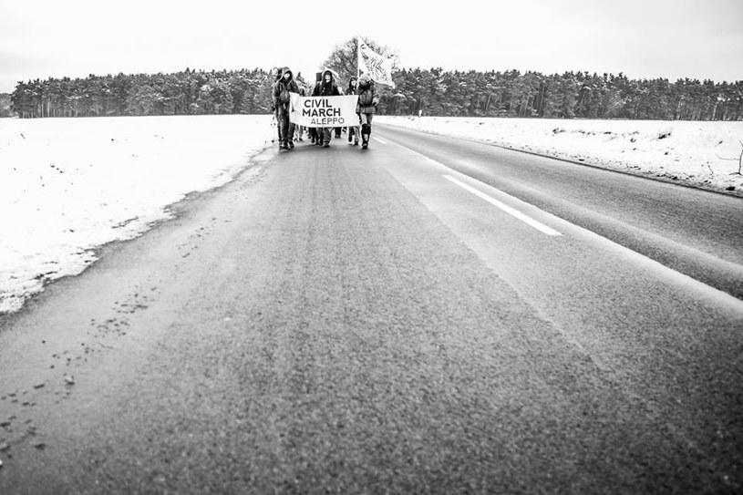 Uczestnicy Marszu dziennie pokonują ok. 20 kilometrów /Maciej Soja /archiwum prywatne