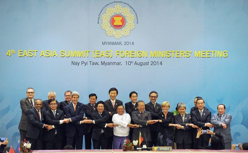 Uczestnicy szczytu ASEANu /AFP
