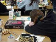 Uczniowie nie kryli zmęczenia /RMF