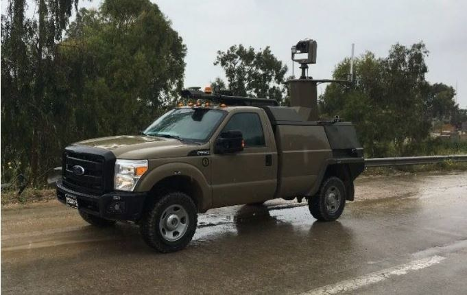 UGV bazuje na Fordzie F-350 /IDF /Internet