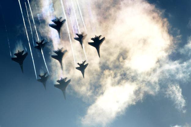 Ujawniono incydent z udziałem rosyjskich samolotów fot. Kirill Kudryavtsev /AFP